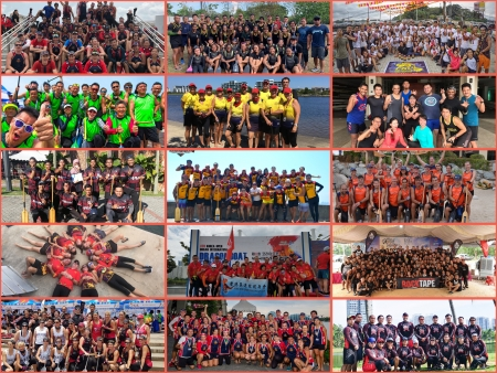 Inaugural Iskandar Puteri International Dragon Boat Festival Race