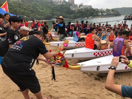 深水灣小龍賽 - 賽果 Results of DWB Small Boat Race