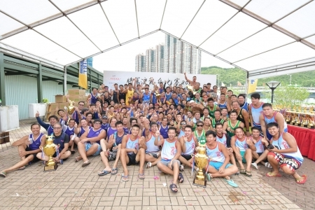 2019 將軍澳龍舟比賽 TKO Dragon Boat Race - 抽籤結果 Lane Draw Results