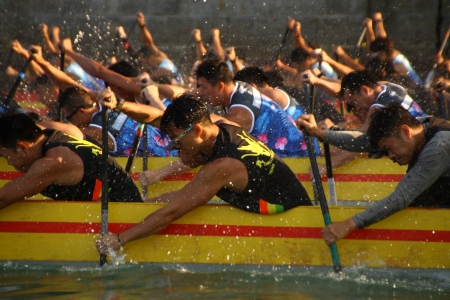 筲箕灣國慶龍舟賽2019 King of The World Dragon Boat Competition
