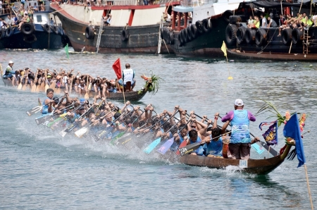 2019 香港仔龍舟競渡大賽 Aberdeen Dragon Boat Race - 抽籤結果 Lane Draw Results
